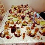שולחן קינוחים בקייטרינג לאירועים יוקרתיים מאור נתן