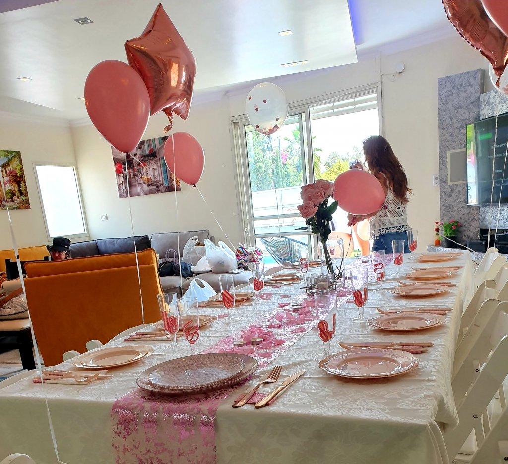 עריכת שולחן למסיבת רווקות עם שף פרטי מאור נתן
