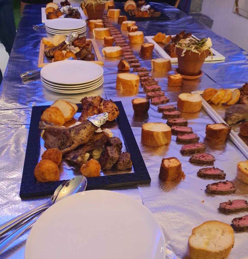 שולחן שוק למסיבת רווקות עם שף פרטי מאור נתן
